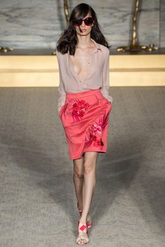 Matthew Williamson Spring 2015 Ready-to-Wear.