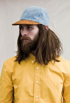 Fashion: trends, outfit ideas, what to wear, fashion news and runway looks Hair And Beard Styles, Long Hair Styles, Patchy Beard, Mustard Shirt, Long Hair Beard, Boys Long Hairstyles, Bun Hairstyles, Haircuts, Fashion News