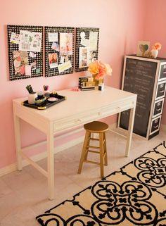 ACHADOS DE DECORAÇÃO - blog de decoração: HOME OFFICE E ATELIÊ DA BLOGUEIRA: foi ela mesma quem decorou!