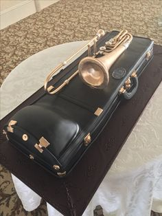 Fondant 3D grooms Cake