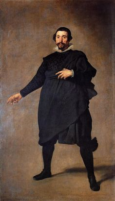 Diego Velazquez - Portrait of Pablo de Valladolid  (oil on canvas, 1636 -1637)
