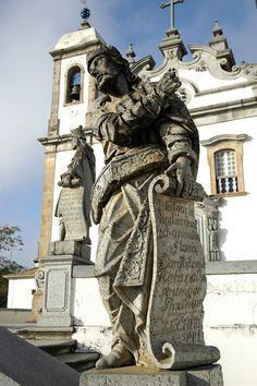 Santuário do Senhor Bom Jesus do Matozinhos, Congonhas do Campo, MINAS GERAIS by Brasil