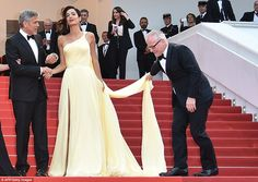 Helping hand: Cannes Film Festival General Delegate Thierry Fremaux stepped up to help Ama...