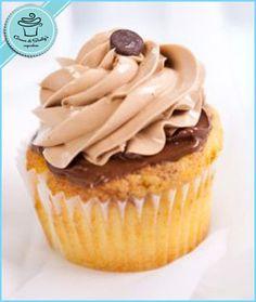 Chocolate Hazelnut cupcake, yum!