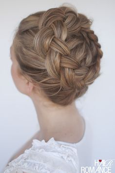 High Dutch crown braid