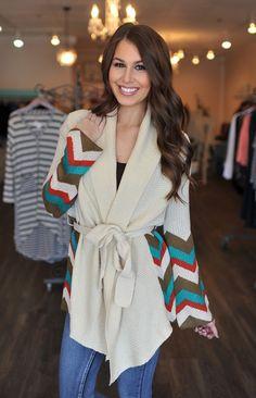 Dottie Couture Boutique - Cream Missoni Sweater, $59.00 (http://www.dottiecouture.com/cream-missoni-sweater/)