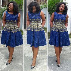 shweshwe fashion 2019 for black women – fashion - NALOADED Short African Dresses, African Print Dresses, African Print Fashion, African Fashion Dresses, African Attire, African Wear, Ankara Dress Styles, Africa Dress, African Traditional Dresses