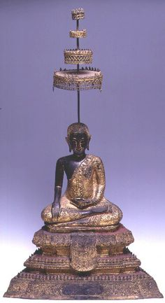 """""""Be willing to be a beginner every single morning.""""   ~  Meister Eckhart  * Rattanakosin Bronze Sculpture of a Seated #Buddha Forming the Bhumisparsa Mudra Origin: #Thailand Circa: 18 th Century AD to 19th Century AD   <3 lis"""