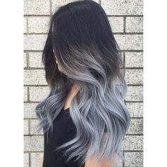 80 Silver Hair Color Ideas and Tips for Dyeing, Maintaining Your Grey... ❤ liked on Polyvore featuring hair