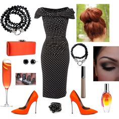 """Sultry Sunset"", created by jazzinwine on Polyvore"