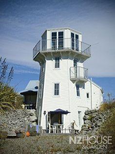 Lighthouse shaped home