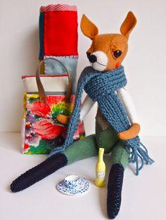 fox by Quinn 68, via Flickr | handmade inspiration | crafty