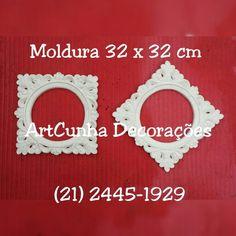 Moldura 32 x 32 cm. ArtCunha Decorações (21) 2445-1929 / 98558-3595 Est. Bandeirantes, 828, Taquara, Rio de Janeiro, RJ  #moldura #molduras #decoração #decoracao #decorando #decorar #artesanato #gesso #jacarepaguá #jacarepagua #barradatijuca #recreiodosbandeirantes #blogdecor #rioguiaoficial #riomais #rioetc #021rio #bomdia #boatarde #boanoite #parede #quarto #corredor #tijuca #niterói #niteroi #novidade #novidades #artes #espelho