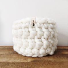 Large Wool Roving Basket Hand Stamped, Basket, Wool, Etsy