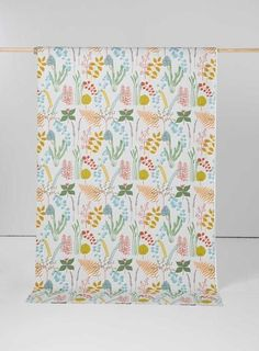 Botanik Turquoise Scandinavian Fabric by Spira of Sweden Scandinavian Fabric, Scandinavian Design, Curtain Fabric, Curtains, Tablecloth Fabric, Gorgeous Fabrics, Home Decor Fabric, Grey Fabric, Jewel Tones