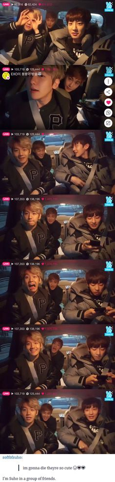 EXO & the V app is the best thing EVER^.^