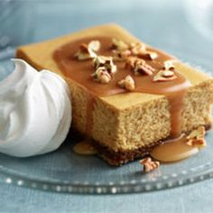 Pumpkin Cheese Cake with Carmel Icing Recipe
