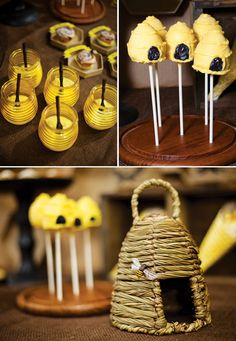 Bee thankful: beehive-honey-party-ideas