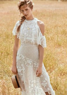 Zimmermann gets ethereal with the launch of its spring-summer 2017 ready-to-wear collection. Fashion retailer Shopbop spotlights the new season with a new lookbook. Photographed outdoors, the shoot features breezy styles ranging from playful rompers to off-the-shoulder dresses and lace separates. Discover more from Zimmermann's spring collection below. Related: See Zimmermann's 2017 Swimsuit Collection Zimmermann Spring …