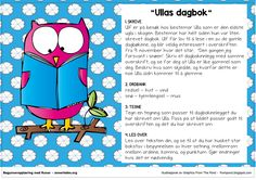 Fortellerkort N2 – Ullas dagbok | Begynneropplæring med Runar School Subjects, Second Grade, Norway, Disney Characters, Fictional Characters, Preschool, Family Guy, Language, Teaching