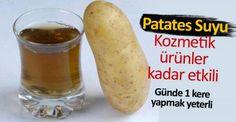 Patates suyunun cilde faydası