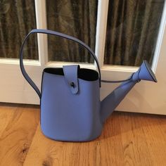 PYLONES BLUE WATERING CAN TOTE  BAG PURSE ADORABLE WATERING CAN BAG BY PYLONES Pylones Bags