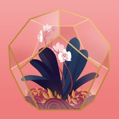 Image of Terrariums - Orchid (PRINT)