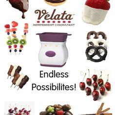 Velata chocolate fondue