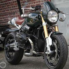 "overboldmotorco: "" ・・・ Bmw R Nine T Custom By: Hanse Qustom Cafe Racers, Bmw Cafe Racer, Cafe Racer Motorcycle, Moto Bike, Motorcycle Design, Bike Design, Motos Triumph, Cool Motorcycles, Vintage Motorcycles"