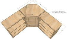 Standard kitchen cabinet dimensions