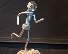 """Excellent """"metal art welded"""" info is offered on our web pages. Check it out and you wont be sorry you did. Welding Art Projects, Welding Crafts, Metal Art Projects, Metal Crafts, Metal Yard Art, Metal Tree Wall Art, Scrap Metal Art, Steel Sculpture, Rock Sculpture"""