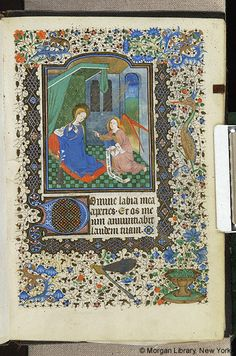 Book of Hours, MS M.82 fol. 33r - Images from Medieval and Renaissance Manuscripts - The Morgan Library & Museum