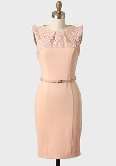 Dominique Lace Contrast Dress By Darling UK -- this def has a vintagey chic feel but is it slutty enough?