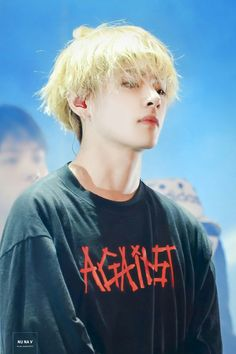 Tae is so hot here.