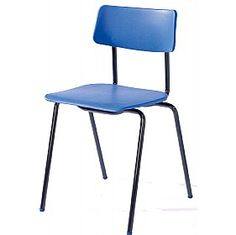 Retro Poly Canteen Chair £20 - Office Furniture