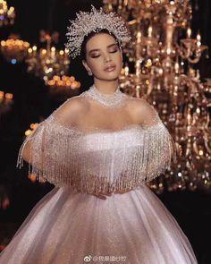 Sequin Wedding, Luxury Wedding Dress, Dream Wedding Dresses, Bridal Dresses, Wedding Gowns, Girls Dresses, Dresses Dresses, Fashion Dresses, Flower Girl Dresses