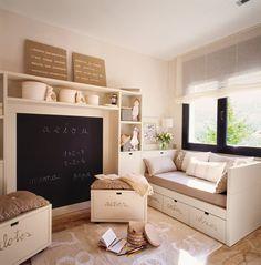 Dormitorios infantiles pequeños: sácales partido · ElMueble.com · Niños