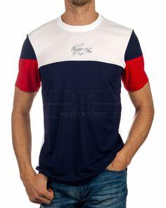 Camiseta LACOSTE ® Sport Tricolor | ENVIO GRATIS Lacoste Polo Shirts, Lacoste Sport, Lacoste Men, Camisa Polo, Design T Shirt, Shirt Designs, Boys Shirts, Tee Shirts, T Shirt Outlet