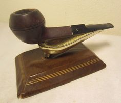 Vintage Medico Crest Nylon Straight Bulldog Estate Briar Tobacco Smoking Pipe 79