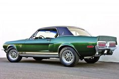 '68 Shelby Mustang Green Hornet 2