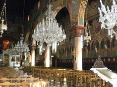 Inside The Monastery of Panagia Tsambika By www.free-pictures-online.com