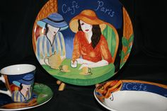 Sango Cafe Paris 4914 Fifteen Piece Service
