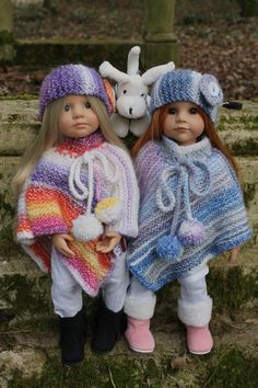 TUTO PONCHO pour poupée Gotz (50 cms) ou poupée Maru. - http://paolareinacrea.canalblog.com/archives/2015/02/21/31555098.html