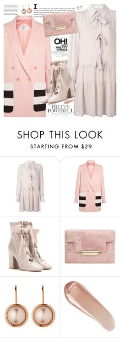 """""""Put a Bow on It!"""" by martinabb ❤ liked on Polyvore featuring See by Chloé, MaxMara, Valentino, Dyrberg/Kern, NARS Cosmetics, dress, bows and chloe"""