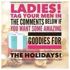 Want Mary Kay for the holidays? Ladies, tag your man so I can PM them to be their personal shopper for you! Couple days left..... Let's help them out with good ideas this year:). www.facebook.com/brookeashleyramsey
