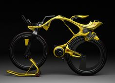 Chainless INgSOC hybrid bike (concept) | Designers: Edward Kim & Benny Cemoli