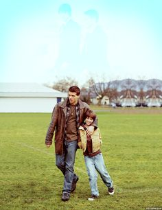 Young Dean & Sam Winchester.  Portrayed by Brock Kelly and Colin Ford.  S04E13 - After School Special