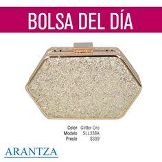 Temporada Primavera-Verano '15 #bolsa #bag #fashion #Arantza #moda #ootd #outfit #spring #tote #trend #tendencia #cute #love #gold #glitter