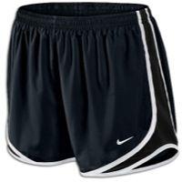 Nike Tempo Shorts - Women's - Black / White