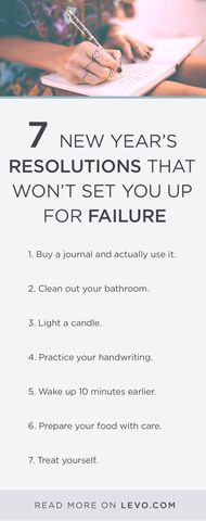 This is NOT your average New Year's resolution article. It's time for some new resolutions that will help you succeed